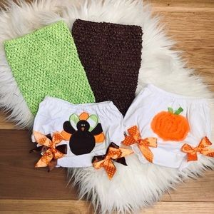 SALE Turkey Bloomers & Crochet Top Mix & Match